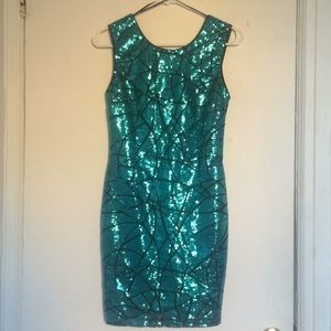 NWOT 👗 Sparkly turquoise dress